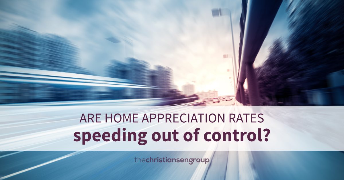 Are the Current Rates of Home Appreciation Sustainable?