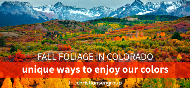 4 Unique Ways to See Colorado's Fall Colors
