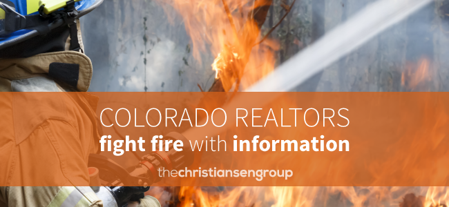 Colorado Realtors Join Effort on Wildfire Education